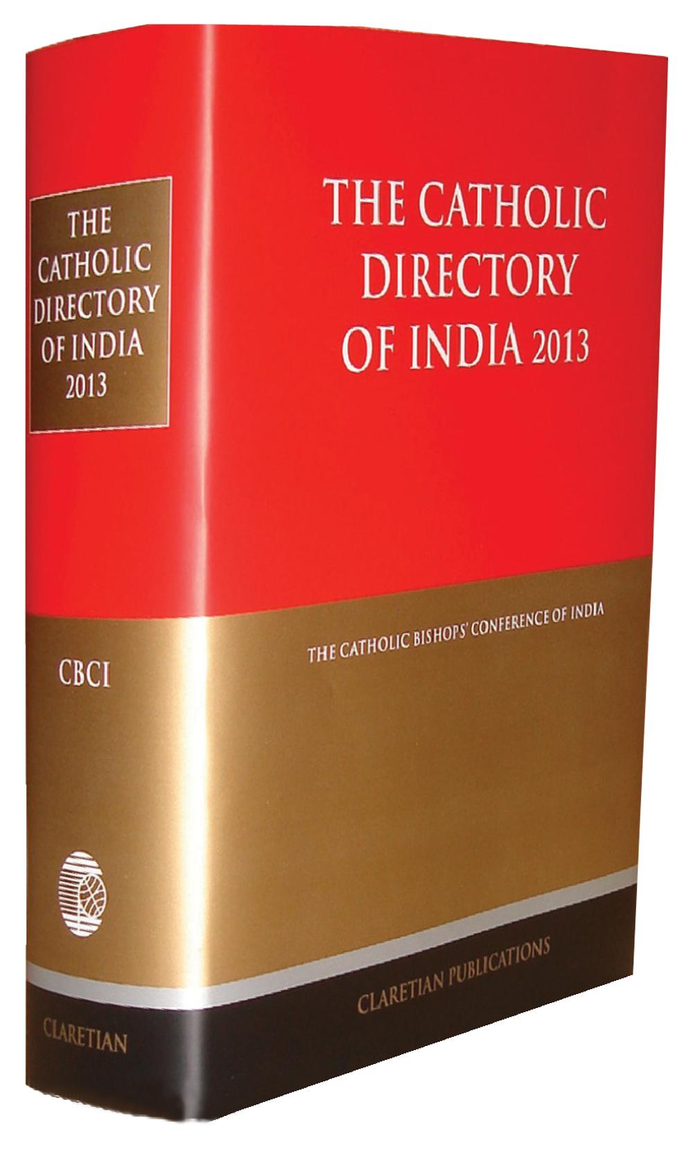 CATHOLIC DIRECTORY OF INDIA - 2013